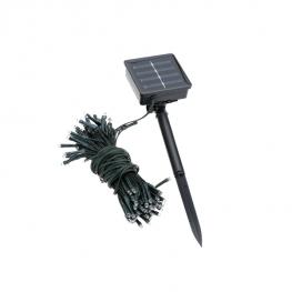 100 LED-ová solárna záhradná svetelná reťaz1