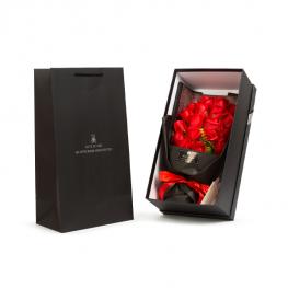 Box ruží - 18 ks červených ruží1