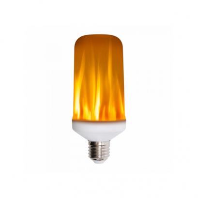 LED Žiarovka s plameňovým efektom fakľe1