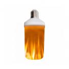 LED Žiarovka s plameňovým efektom fakľe2