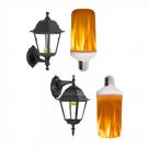 LED Žiarovka s plameňovým efektom fakľe3
