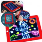 Magic Sketchpad zručnosť rozvíjajúca, kresliaca tabuľa s osvetlením 2