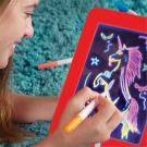 Magic Sketchpad zručnosť rozvíjajúca, kresliaca tabuľa s osvetlením 3