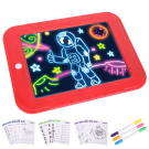 Magic Sketchpad zručnosť rozvíjajúca, kresliaca tabuľa s osvetlením 4