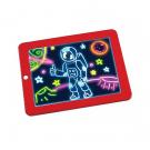 Magic Sketchpad zručnosť rozvíjajúca, kresliaca tabuľa s osvetlením 1