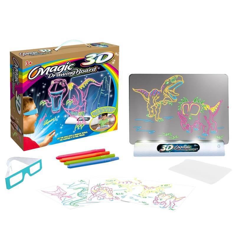 MagicDraw kresliaca magická tabuľka s osvetlením