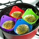 Set silikónových foriem pre varenie vajíčok6