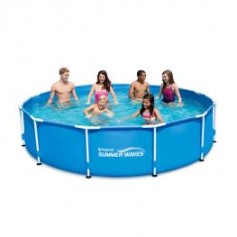 Summer Waves bazénová súprava s kovovým rámom - 366 x 76 cm 1