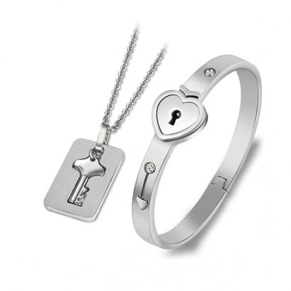 Súprava šperkov Locked Love6