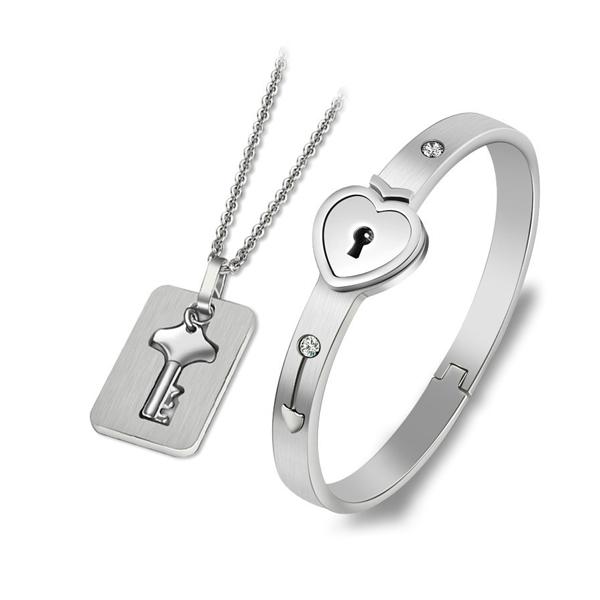 Súprava šperkov Locked Love1