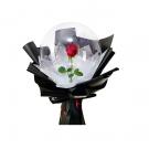 Svietiací balón s ružou1