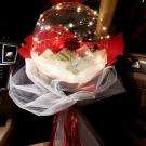 Svietiací balón s ružou3