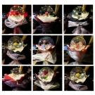 Svietiací balón s ružou6